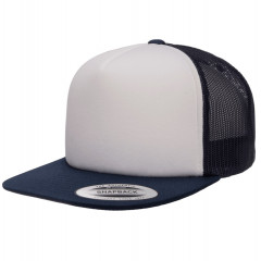 Кепка FlexFit 6005FW NO FOAM Trucker Navy/White/Navy