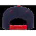 Кепка FlexFit 6089MT - Classic Snapback Navy/Red