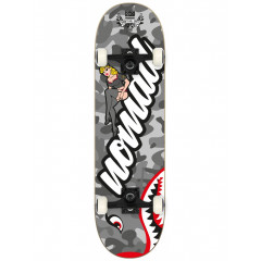 "Скейтборд в сборе NOMAD - Pin Up Grey 8.0"""