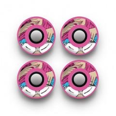 Колеса Footwork Show Me Pink 65mm 78A